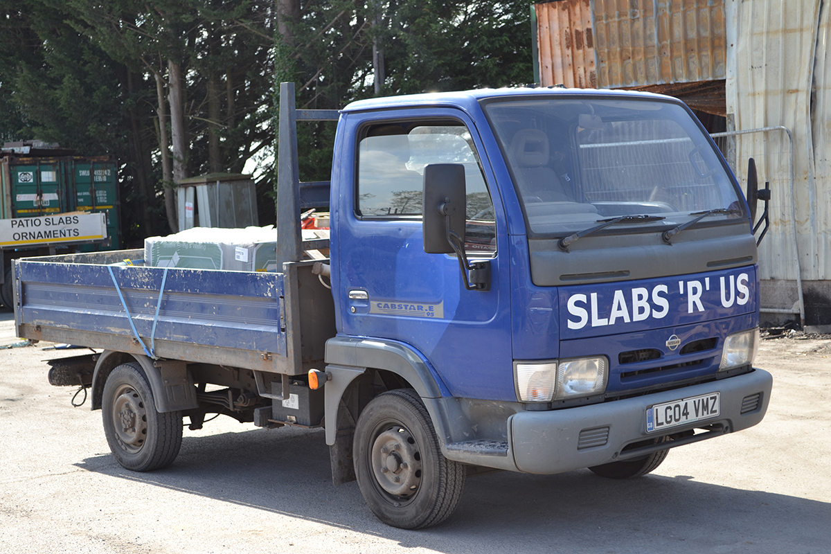 Slabs R Us deliver - van